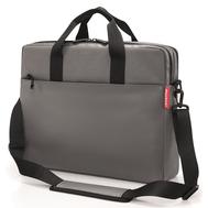 Сумка для ноутбука Reisenthel Workbag Canvas, серая, 42.5х33х12см - арт.US7050, фото 1