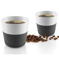 Кофейные чашки Eva Solo, чёрные, 230мл - 2шт - арт.501002, фото 1