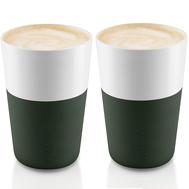 Стаканы для латте Eva Solo, темно-зелёные, 360мл - 2шт - арт.501057, фото 1