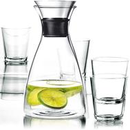 Набор для напитков Eva Solo Drip-free: графин и 4 бокала - арт.567460, фото 1