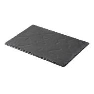 Тарелка прямоугольная Revol Basalt, черный фарфор, 30x16 см - арт.640605, фото 1