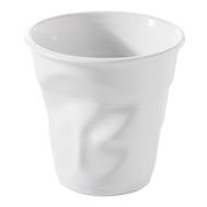 Стакан мятый Revol Froisses, белый фарфор, 80мл - арт.616096, фото 1