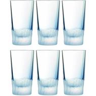 Стаканы высокие Cristal d'Arques Intuition, голубые, 330 мл - 6 шт - арт.L8639, фото 1