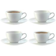Набор кофейных пар LSA International Dine, белые, 100мл - 4шт - арт.P019-04-997, фото 1