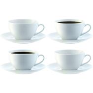 Набор чайных пар LSA International Dine, белые, 220мл - 4шт - арт.P019-07-997, фото 1