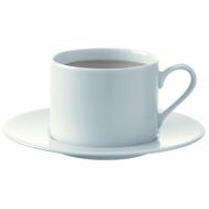 Набор чайных пар LSA International Dine, белые, 250мл - 4шт - арт.P034-11-997, фото 1