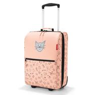 Детский чемодан Reisenthel Trolley Cats and dogs XS, розовый, 30.1х75.3х20см - арт.IL3064, фото 1