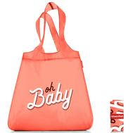Сумка хозяйственная складная Reisenthel Mini maxi shopper, Oh baby, 43.5х65х6см - арт.SO0745, фото 1