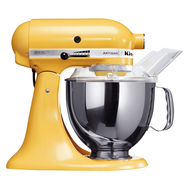 Миксер планетарный KitchenAid Artisan, чаша 4.8л, желтый - арт.5KSM175PSEMY, фото 1