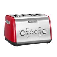 Тостер KitchenAid на 4 хлебца, красный - арт.5KMT421EER, фото 1