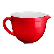 Чаша (дежа) керамическая KitchenAid 4.7л, красная — арт.5KSMCB5ER, фото 1