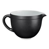 Чаша (дежа) керамическая KitchenAid 4.7л, черная матовая — арт.5KSMCB5BM, фото 1