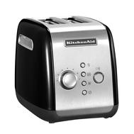 Тостер KitchenAid на 2 хлебца, черный - арт.5KMT221EOB, фото 1