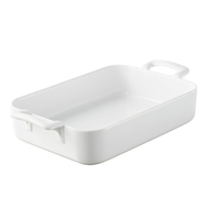 Форма для запекания Revol Belle Cuisine, прямоугольная, 19x12.5x5 см, 700мл, белый фарфор - арт.616952, фото 1