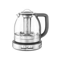 Чайник электрический KitchenAid для кипячения и заваривания, 1.5л, стеклянный - арт.5KEK1322ESS, фото 1