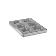 Форма для мини-пирогов, на 6 шт., съемное дно, с антипригарным покрытием, KBNSO06MP, фото 1