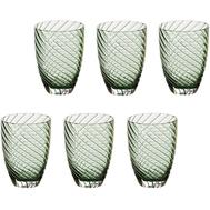 Цветные стаканы Italesse Vertigo Tumbler, зелёные, 380мл - 6шт - арт.3357, фото 1