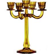 Подсвечник большой Nachtmann Ravello 5 свечей - 30см, желтый - арт.71191, фото 1