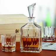 Набор для виски Nachtmann Aspen - 2 стакана и штоф - арт.90024, фото 1