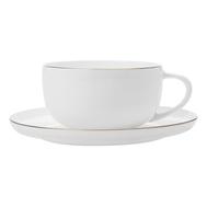 Чашка с блюдцем Maxwell & Williams Кашемир Голд, костяной фарфор, 300мл - арт.MW583-EF0116, фото 1