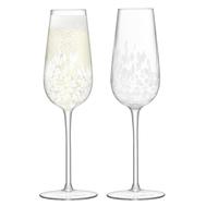 Набор фужеров для шампанского LSA International Stipple, 250мл - арт.G1332-09-602, фото 1
