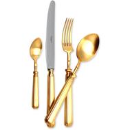 Набор столовых приборов Cutipol Piccadilly Gold, на 12 персон 130 предметов - арт.9142-130, фото 1
