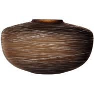 Ваза LSA International Boulder, коричневая, 17.5см - арт.G1606-17-154, фото 1