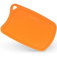Пластиковая разделочная доска Samura Fusion, 380х250мм, оранжевая, полиуретан - арт.SF-02OR/K, фото 1