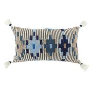 Декоративная подушка 40х60см Tkano Ethnic, бежево-голубая, 1000г - арт.TK18-CU0002, фото 1
