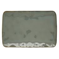 Тарелка прямоугольная большая Easy Life R2S Interiors, фарфор, серая, 27 х 19см - арт.EL-R2029_INTC, фото 1