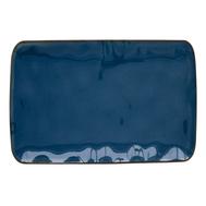 Тарелка прямоугольная большая Easy Life R2S Interiors, фарфор, синяя, 27 х 19см - арт.EL-R2029_INTB, фото 1