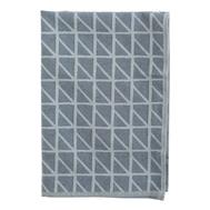 Кухонное полотенце Tkano Twist, темно-синее, 45х70см - арт.TK18-TT0007, фото 1