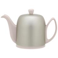 Чайник фарфоровый Guy Degrenne Salam, с ситечком, пудровый, 0.7л - арт.236267, фото 1