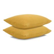 Льняная наволочка Tkano Essential, горчичная, 70х70см - арт.TK18-LP0006, фото 1