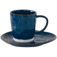 Чайная пара Easy Life R2S Interiors, фарфор, синяя, 250мл - арт.EL-R2016_INTB, фото 1