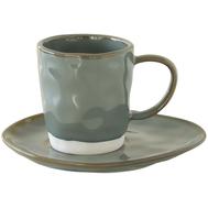 Чайная пара Easy Life R2S Interiors, фарфор, серая, 250мл - арт.EL-R2016_INTC, фото 1