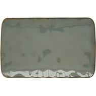 Тарелка прямоугольная Easy Life R2S Interiors, фарфор, серая, 20 х 13см - арт.EL-R2028_INTC, фото 1