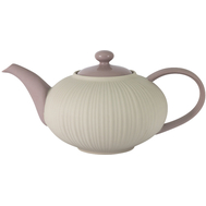 Чайник заварочный Home & Style Cocoa & Caramel, фарфор, 1л - арт.HS4-G099-1G2G3S, фото 1