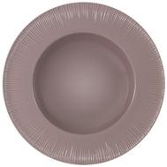 Тарелка суповая Home & Style Cocoa & Caramel, фарфор, какао, 24см - арт.HS4-G099-28G2S, фото 1