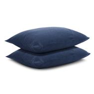 Льняная наволочка Tkano Essential, темно-синяя, 70х70см - арт.TK18-LP0002, фото 1