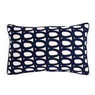 Чехол на подушку Tkano Twirl, темно-синий, 30х50см - арт.TK18-CC0005, фото 1