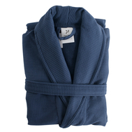 Банный халат Tkano Essential, темно-синий, размер S/M - арт.TK18-BR0009, фото 1