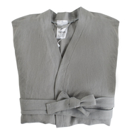 Льняной халат Tkano Essential, серый, размер M - арт.TK18-BR0004, фото 1