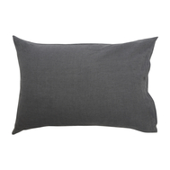 Льняная наволочка Tkano Essential, темно-серая, 50х70см - арт.TK18-LP0009, фото 1