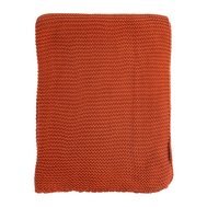 Вязаный плед Tkano Essential, терракотовый, 220х180см - арт.TK18-TH0008, фото 1