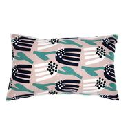 Чехол на подушку Tkano Lazy flower Cuts&Piece, пыльная роза, 30х50см - арт.TK18-CC0004, фото 1