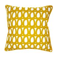 Чехол на подушку Tkano Twirl, горчичный, 45х45см - арт.TK18-CC0006, фото 1