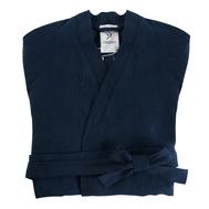 Льняной халат Tkano Essential, темно-синий, размер M - арт.TK18-BR0006, фото 1
