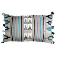Чехол на подушку Tkano Ethnic, бежево-голубой, 30х60см - арт.TK18-CC0002, фото 1