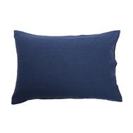 Льняная наволочка Tkano Essential, темно-синяя, 50х70см - арт.TK18-LP0001, фото 1